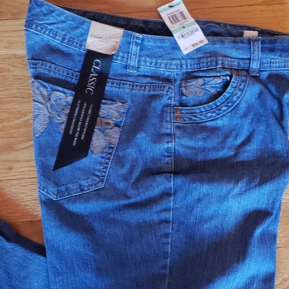 Charter Club Classic 5 Pocket Jeans Blue - size 8